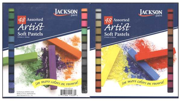 Jackson Assorted Soft Pastels Set of 48