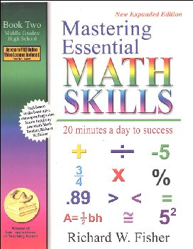 Mastering Essential Math Skills Book Two with DVD