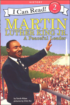 Martin Luther King Jr.: A Peaceful Leader (I Can Read! Level 2)