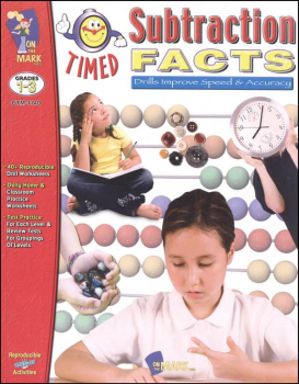 Timed Subtractions Facts