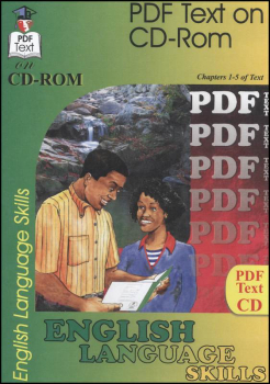 English 1: Language Skills Chapters 1-5 Text on CD-ROM