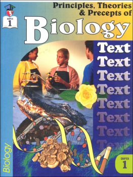 Principles, Theories & Precepts of Biology Chapter 1 Text