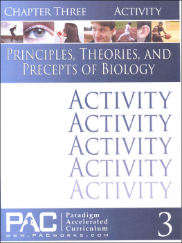 Principles, Theories & Precepts of Biology Chapter 3 Activities