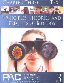 Principles, Theories & Precepts of Biology Chapter 3 Text