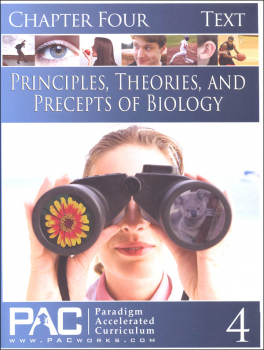 Principles, Theories & Precepts of Biology Chapter 4 Text
