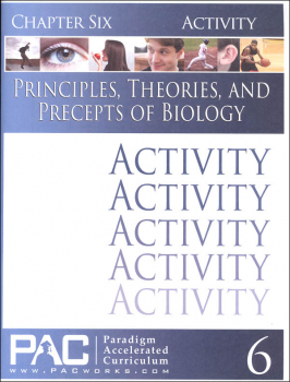 Principles, Theories & Precepts of Biology Chapter 6 Activities