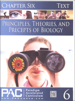 Principles, Theories & Precepts of Biology Chapter 6 Text