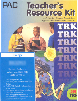 Principles, Theories & Precepts of Biology Teacher's Resource Kit with Digital Download