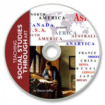 Teaching Social Studies Through Art CD