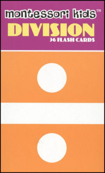 Montessori Flash Cards Division