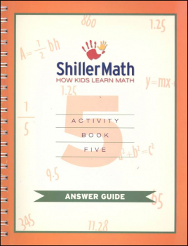 ShillerMath Lesson Book 5 Answer Guide