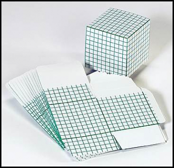 Set of 16 thousands cubes (flat) die-cut