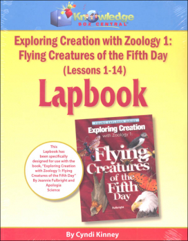 Apologia Exploring Creation With Zoology 1 Complete Lapbook Package Printed Booklets