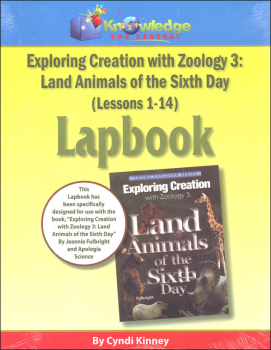 Apologia Exploring Creation With Zoology 3 Complete Lapbook Package Printed Booklets