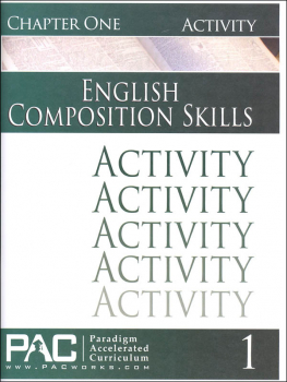 English II: Composition Skills Chapter 1 Activities
