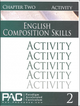 English II: Composition Skills Chapter 2 Activities