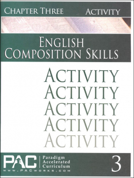 English II: Composition Skills Chapter 3 Activities