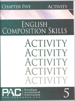 English II: Composition Skills Chapter 5 Activities