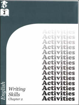 English III: Writing Skills Chapter 2 Activities