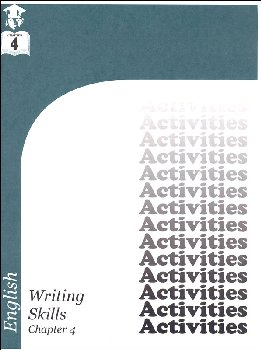 English III: Writing Skills Chapter 4 Activities