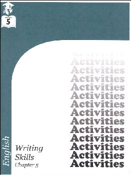 English III: Writing Skills Chapter 5 Activities