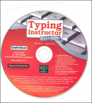 Typing Instructor Platinum (in paper sleeve)