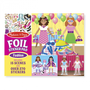 Fabulous Foil Sticker Pad - Fashion