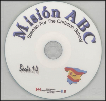 Spanish Mission ABC CD (For ABC 1-4)