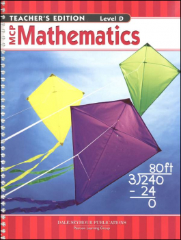 MCP Math Level D Teacher's Guide 2005