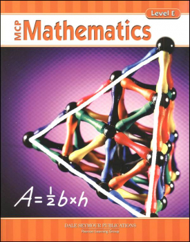 MCP Math Level E Student Edition 2005