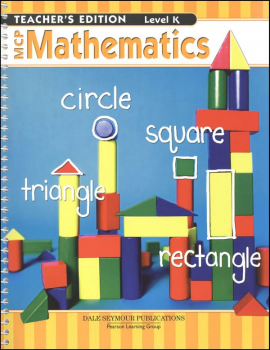 MCP Math Level K Teacher's Guide 2005