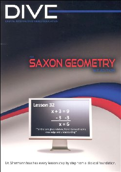 DIVE Geometry 1st Edition Instructional CD-ROM