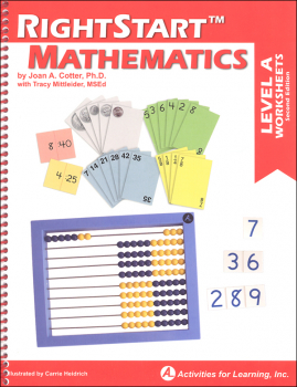 RightStart Mathematics Level A Worksheets 2nd Edition