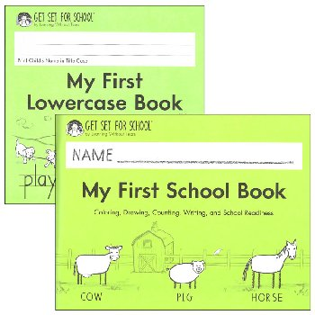 My First Book Set (My First Book & Lowercase Book)