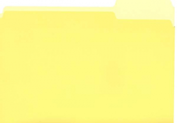 File Folder - Yellow