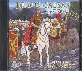 Julius Caesar and The Story of Rome CD
