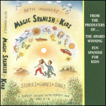 Magic Spanish for Kids CD