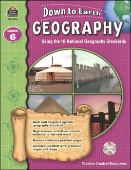 Down to Earth Geography - Grade 6