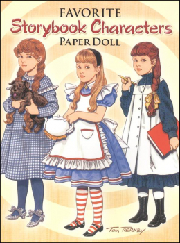 Favorite Storybook Characters Paper Doll