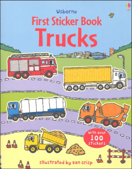First Sticker Book - Trucks
