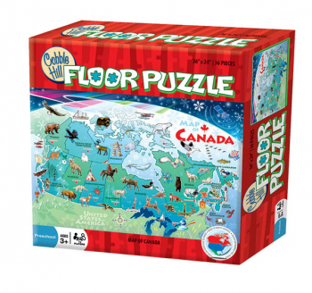 Map of Canada Floor Puzzle (48 piece)
