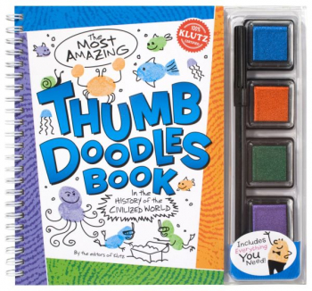 Most Amazing Thumb Doodles Book in the History of the Civilized World