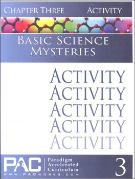 Basic Science Mysteries, Chapter 3, Activities