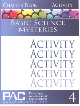Basic Science Mysteries, Chapter 4, Activities