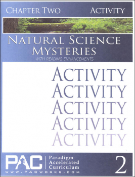 Natural Science Mysteries, Chapter 2, Activities