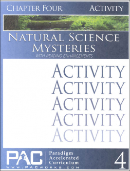 Natural Science Mysteries, Chapter 4, Activities