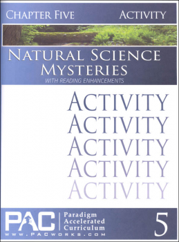 Natural Science Mysteries, Chapter 5, Activities