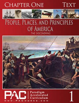 People, Places, and Principles of America Chapter 1 Text