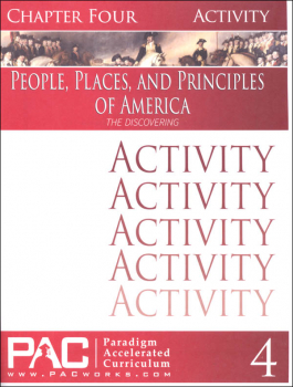 People, Places, and Principles of America Chapter 4 Activities