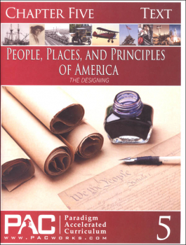 People, Places, and Principles of America Chapter 5 Text